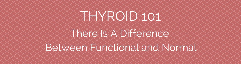Thyroid 101