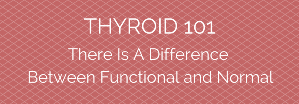Thyroid 101