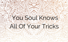 Your Soul Knows All Of Your Tricks